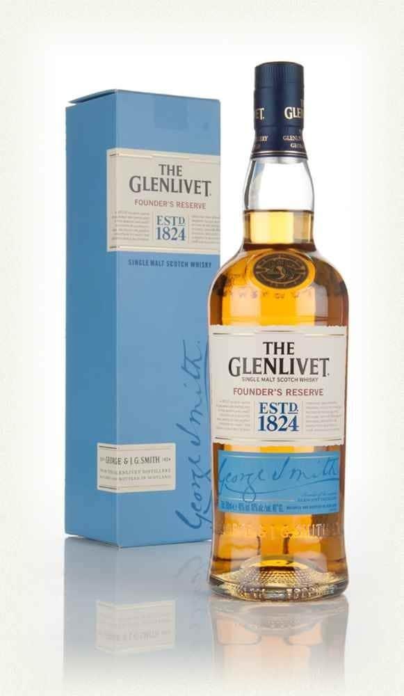 WHISKIS GLENLIVET