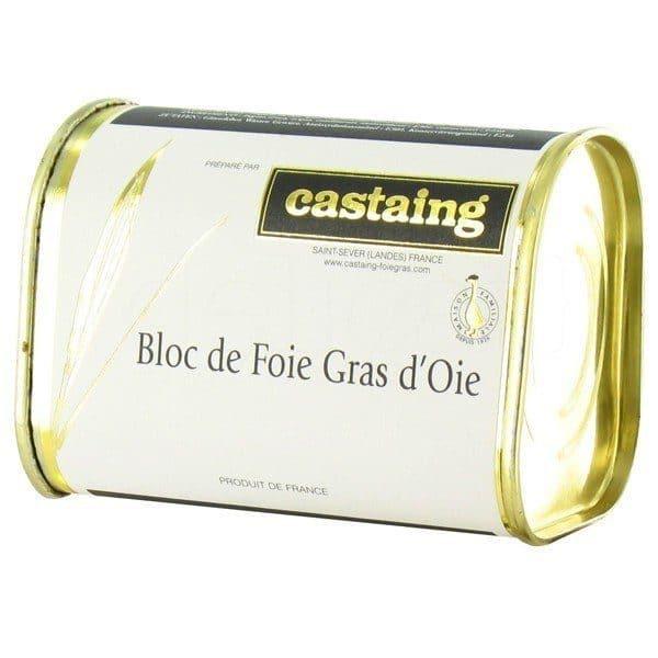 CASTAING BLOC DE FOIE GRAS D´OIE 135GR