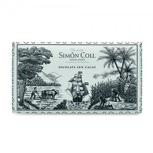 SIMÓN COLL CHOCOLATE 50% CACAO 200gr