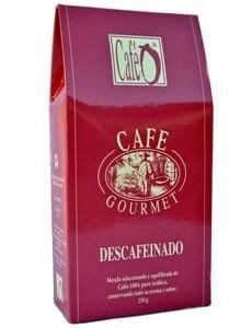 CAFÉ GOURMET DESCAFEINADO MOLIDO 250GR