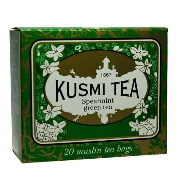 KUSMI TEA SPEARMINT GREEN TEA 44GR