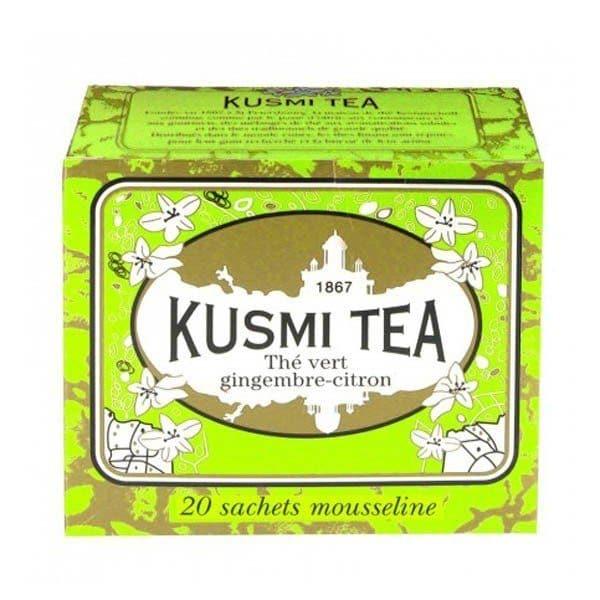 KUSMI TEA GINGER-LEMON GREEN TEA 44GR