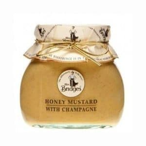 MRS BRIDGES HONEY MUSTARD WITH CHAMPAGNE 200GR