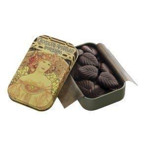AMATLLER CHOCOLATE HOJAS FINAS 70% CACAO LATA 30GR