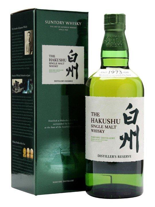 THE HAKUSHU SINGLE MALT WHISKY