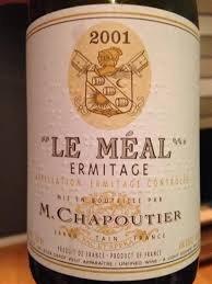"""M.CHAPOUTIER ERMITAGE """"LE MÉAL"""" 2001"""